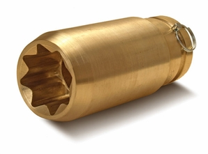 Aldon 4024-184 Bronze 8-Point Sockets: 1-13/16""