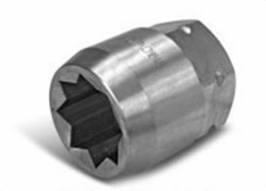 Aldon 4024-226 Steel Socket Inserts For Never Slip Holders 8 Point: 2-1/4""
