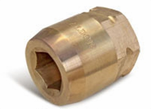 Aldon 4024-244 Bronze Socket Inserts For Never Slip Holders Hex: 1-1/2""