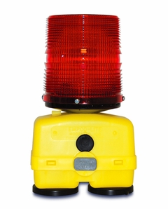 Aldon 4115-14 Magnetic Barricade Flasher - Red
