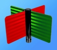 Aldon 4115-164 National Trackwork Target - Red/Green