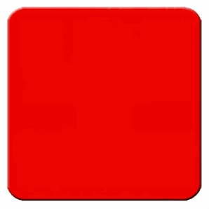 """Aldon 4115-44 Stop - 24"""" X 24"""" Red Sign Plate"""