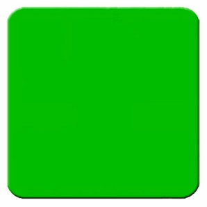"Aldon 4115-45 Proceed - 24"" X 24"" Green Sign Plate"