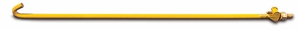 Aldon 4127-01 Single-End Gauge Rod