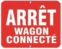 Aldon 6AWC-R Arret - Wagon Connecte (Red)