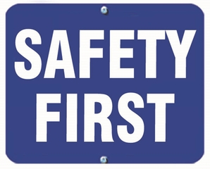 Aldon 6SAFE-B Safety First (Blue)
