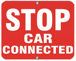 Aldon 6SCC-R Stop - Car Connected (Red)
