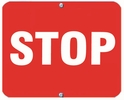 Aldon 6STOP-R Stop (Red)