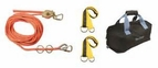 Falltech 77006 Rope Horizontal Lifeline System 60ft