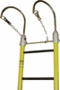 Hastings 13036 2 1/2� Heavy Duty Side Rails One Piece Fiberglass Ladder With 12� Hooks