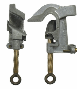 Hastings 21578 Aluminum 30° Angle Ground Clamp