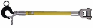 """Hastings 3410-1 12"""" Isolating Link Sticks With Hot Stick Operated Safety Latch"""