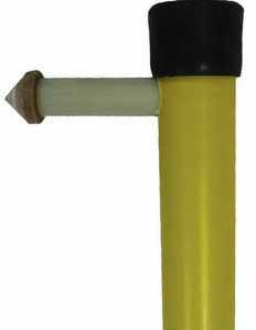"Hastings 502-12 1 1/2"" x 12' Insulated Head Switch Stick"