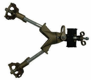 """Hastings 5740-2 Saddle With 1 1/2"""" Pole Clamp"""