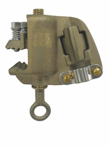 Hastings 9153CC Bronze Tower And Flat Face Ground Clamps