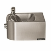 Haws 1105 Single Bubbler Wall Mount Stainless Steel Drinking Fountain