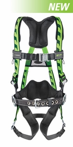 Miller AirCore Harness with Side D Rings,  Mating Buckles & Tongue Buckles, Lumber Pad, Belt