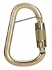 "MSA 10089207 Carabiner, 1"" Gate Opening, Small"