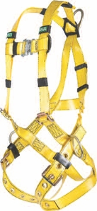 MSA Gravity Urethane Coated Harness 3D