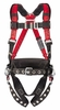 MSA TechnaCurv� 10054720 Construction Full Body Harness, X-Large (XLG)