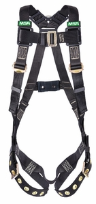 MSA Workman 10152638 Arc Flash Vest-Style Harness, X-Large (XLG)
