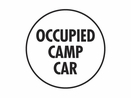 Nolan BF-5 Flag, �Occupied Camp Car�