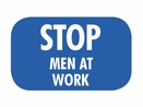 Nolan BF-6 Blue Flag, �Stop Men At Work�