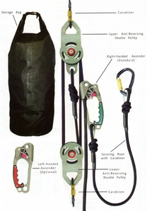 SuretyMan Rescue Utility System 200 feet (61 Meters)