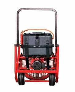 Supervac 718-B, Electric, Battery Powered, Variable Speed PPV