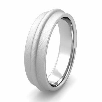 Arista Comfort Fit Wedding Band