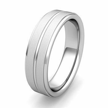 Customized Park Ave Wedding Band Ring in Gold or Platinum