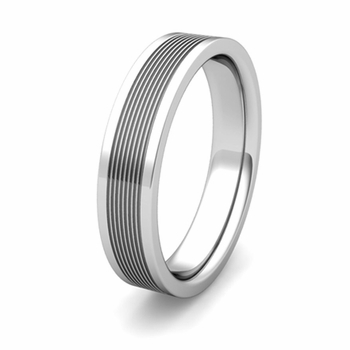 Groove Comfort Fit Wedding Band