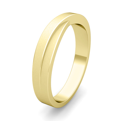 Infinity Wedding Band Mens Wedding Ring In Gold Or Platinum
