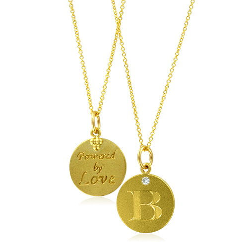 order now ships on monday 128order now ships in 10 business days initial necklace letter b
