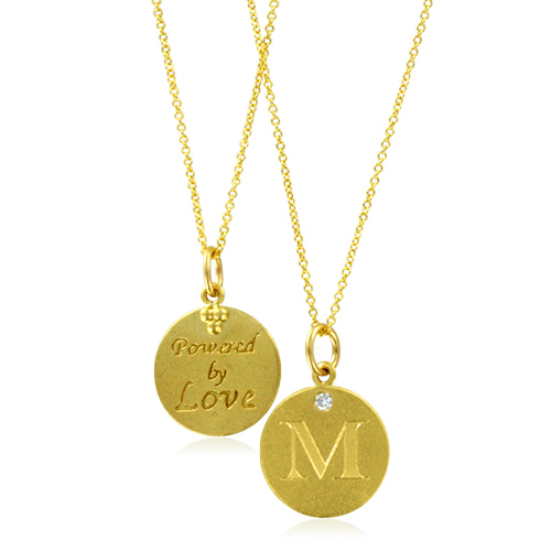 Initial necklace letter m diamond pendant with 18k yellow gold chain order now ships on wednesday 530order now ships in 4 business days initial necklace letter m diamond pendant with 18k yellow gold chain necklace aloadofball Images