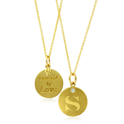 Initial necklace letter s diamond pendant with 18k yellow gold chain order now ships on tuesday 424order now ships in 4 business days initial necklace letter s mozeypictures Image collections