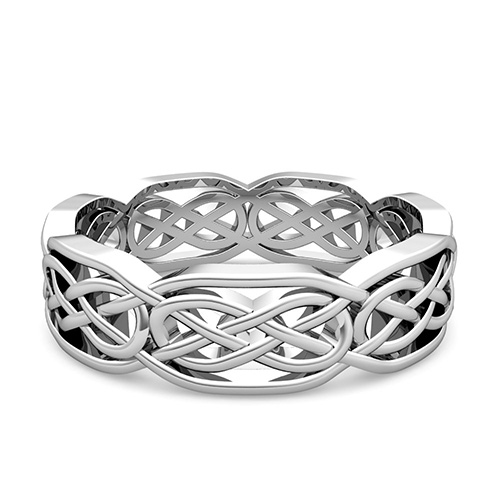 rings ring celtic knot bands listing unique wedding scottish il