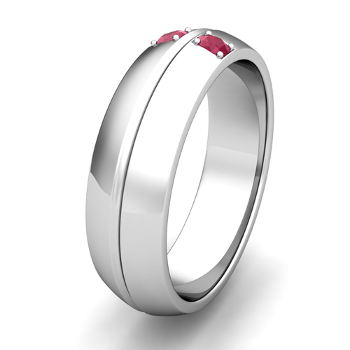 Order Now Ships On Thursday 9 20order In 14 Business Days Mens Comfort Fit Ruby Wedding Band Ring