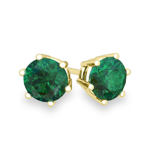 Order Now Ships On Tuesday 1 8order In 10 Business Days Emerald Stud Earrings