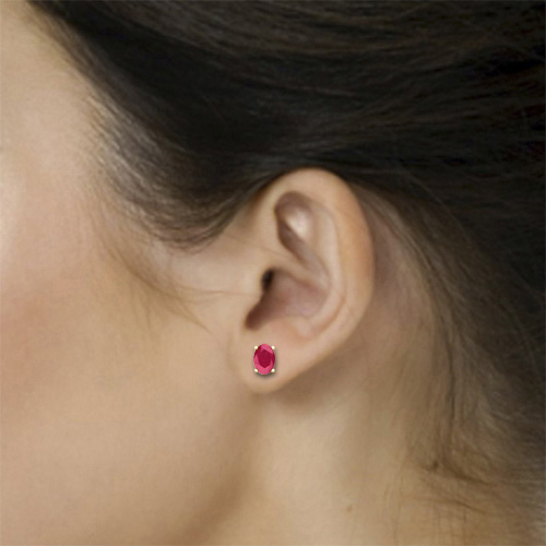 daily manik ruby id women jaipur ki proddetail fashion shrim tops natural gemstone earrings jewelery baali