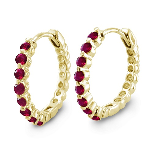 ruby b rubies and diamond jewelry round natural index halo earrings brilliant