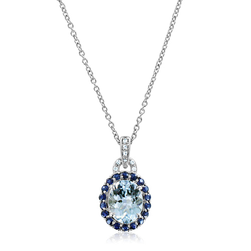 new evil blue diamond eye necklace disk large sapphire dilarasaatci pendant products