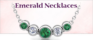 emerald Pendant Necklaces