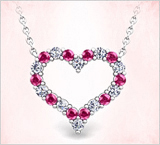 Romantic Heart Jewelry