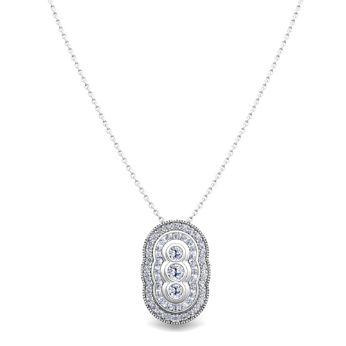 Vintage inspired diamond necklace in 14k gold pendant vintage inspired diamond pendant order now ships on friday 720order now ships in 5 business days mozeypictures Gallery