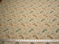 1 1/2 yards Fabricut Parfait Skylight botanical upholstery fabric