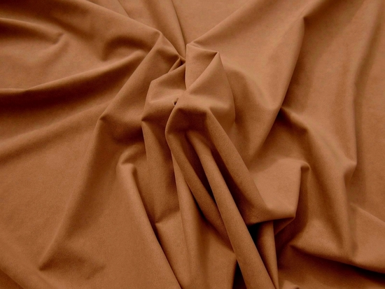 1 1/2 yards of Genuine Ambiance HP Ultrasuede color 5206 ginger