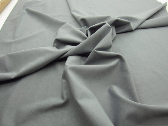 1 1/2 yards of Genuine Ambiance HP Ultrasuede Color 5970 French Grey