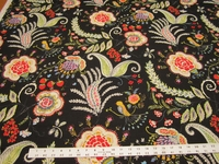 1 1/4 yards of Waverly Dena Home Hidden Charms Fiesta Print Fabric