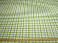 1.25 yards of mult check drapery or upholstery fabric